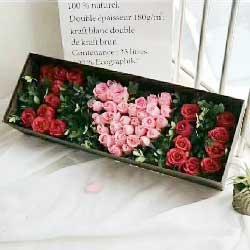 真诚的心/33枝玫瑰