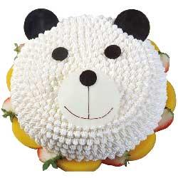 小惊喜/8寸小熊猫鲜奶蛋糕