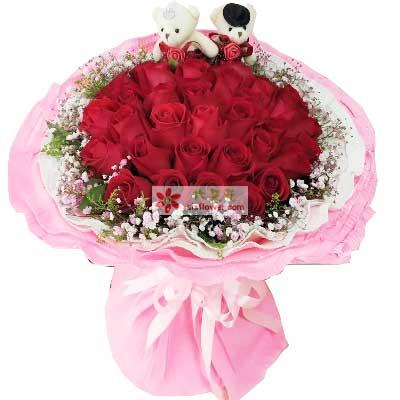 此生最爱是你/33枝红色玫瑰