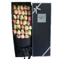 你是我最美的相遇/33枝玫瑰礼盒