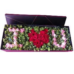 白首不相离/99枝红色玫瑰:与你牵手到永久/33枝玫瑰礼盒