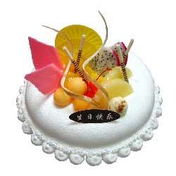 深情地思念你/鲜奶水果蛋糕