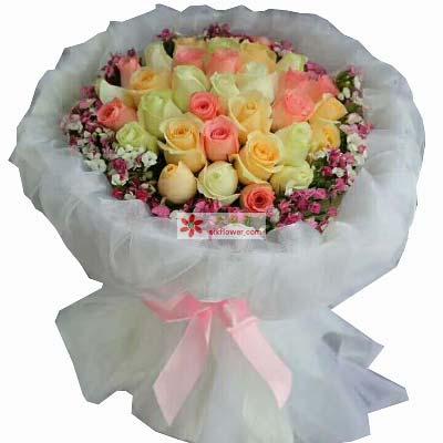 把握幸福/33枝玫瑰
