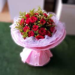 想你到不能呼吸/19枝红色玫瑰