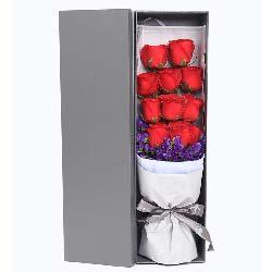 大胆的去爱你/11枝红玫瑰礼盒