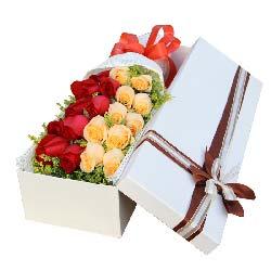 爱的愉悦/19枝玫瑰礼盒