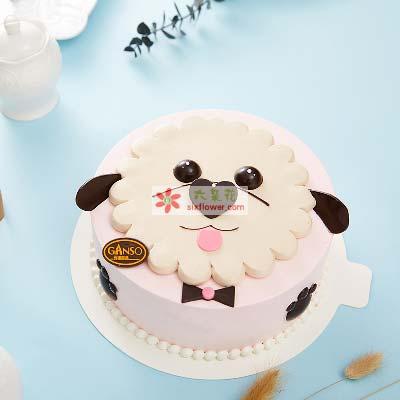 旺事如意/8寸元祖鲜奶蛋糕