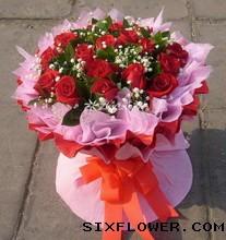 21枝红玫瑰/我爱你!