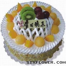 水果蛋糕,痴情