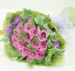 21支紫玫瑰/每一天爱你