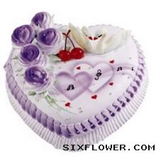 心形蛋糕/美好的一天