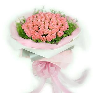 33支粉玫瑰/相识相爱