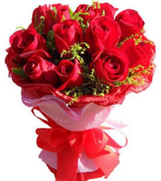 喜悦_11支红玫瑰