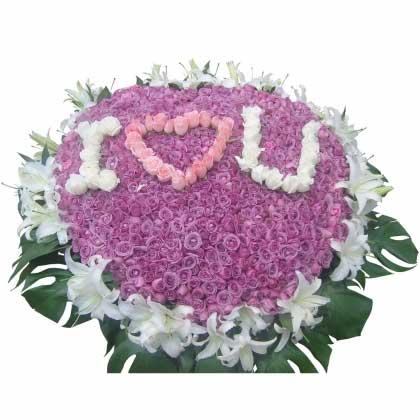 999枝紫玫瑰/你就是我的
