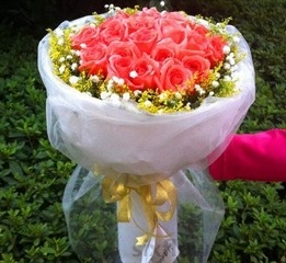 19支粉色玫瑰/夜夜想你