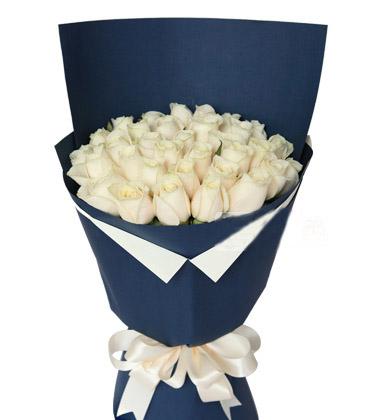 白玫瑰29支/亲爱的天使