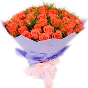57支粉玫瑰/我爱我妻
