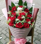 19枝红玫瑰/属于你