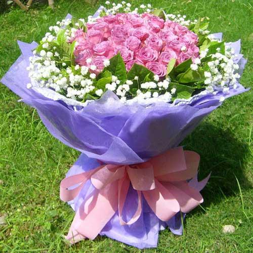 感受你的呼吸/19朵紫玫瑰