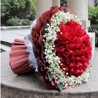 99枝红色玫瑰/浪漫的色彩
