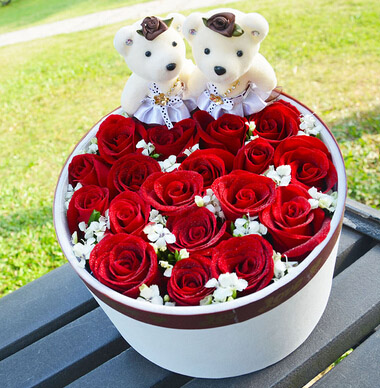 19支红玫瑰/幸福长久