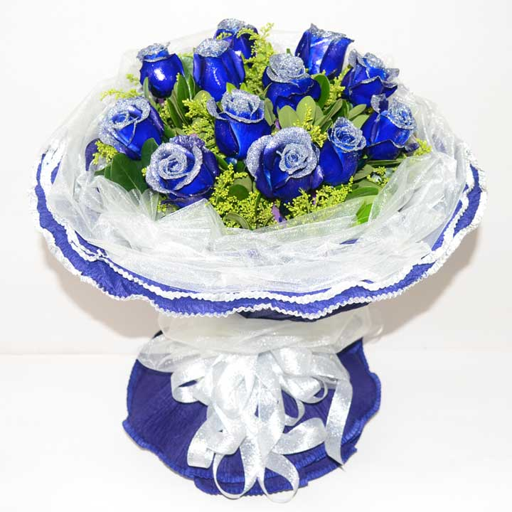 生生世世/11支蓝色玫瑰