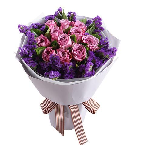 浪漫的心跳都给你/紫玫瑰11枝