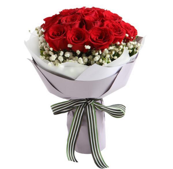 红玫瑰19支/无法忘往昔的喜悦