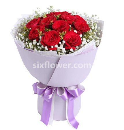 很爱你/11支红玫瑰