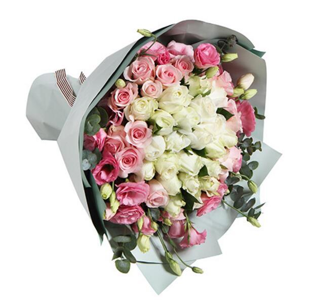 青春的气息/36支各色玫瑰