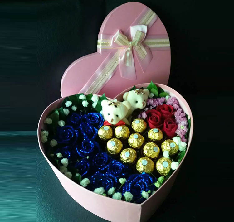 想念的滋味/14支玫巧克力瑰礼盒
