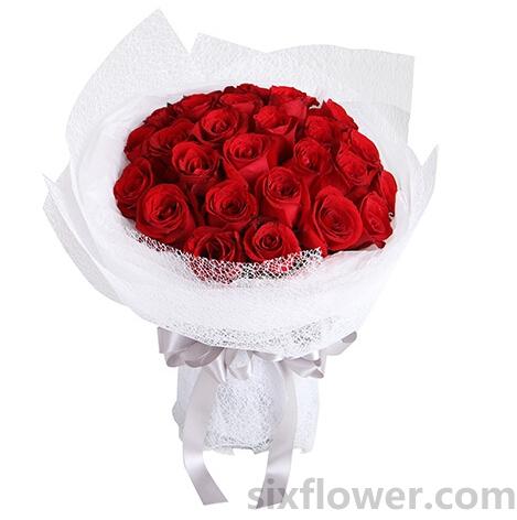 我的心因你而微笑/红玫瑰29枝