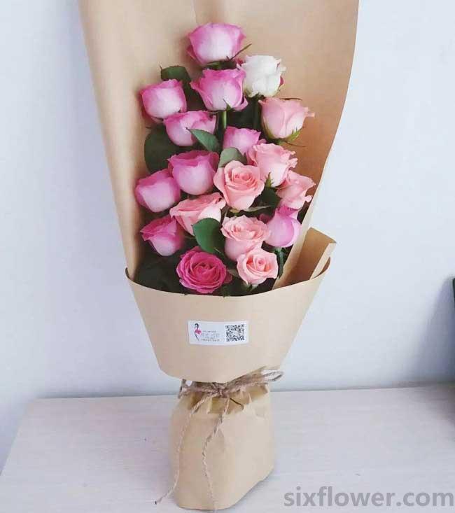 在月夜念你/19支玫瑰
