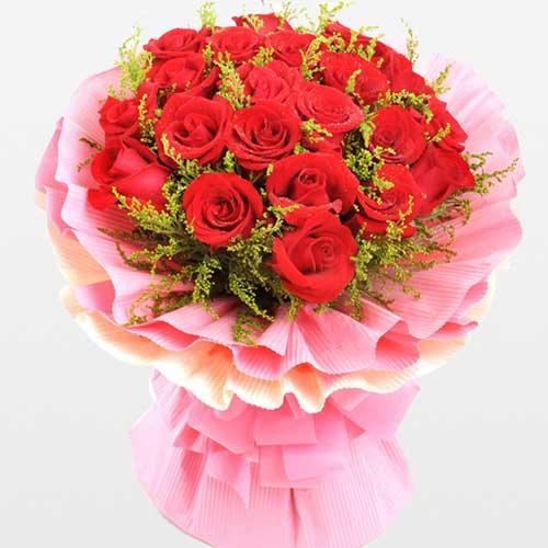 致美丽的你/21支红玫瑰