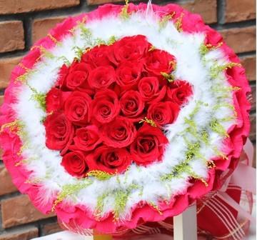缪斯女神/21枝红玫瑰