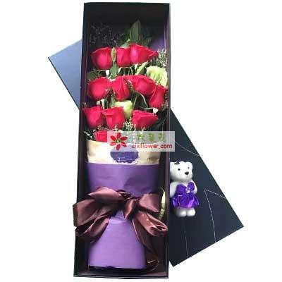 深深的爱意/11枝红色玫瑰