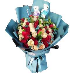 爱你是快乐的/48支玫瑰