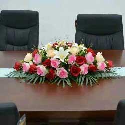 会议桌花8