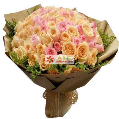 你是我快乐的主角/99支玫瑰