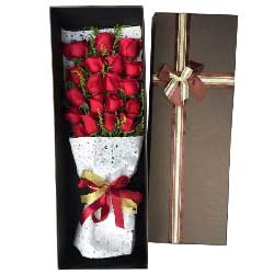 无时不爱你/19支红色玫瑰