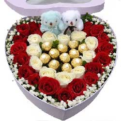 只爱你一人/29支玫瑰巧克力