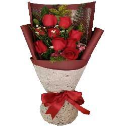 多姿多彩的爱情/9支红色玫瑰