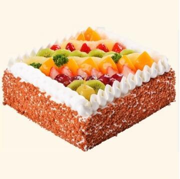 惬意的生活/水果蛋糕