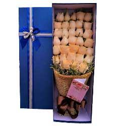 你在我的心里/33枝香槟玫瑰礼盒