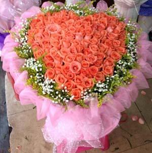 最珍贵的人/99支粉玫瑰