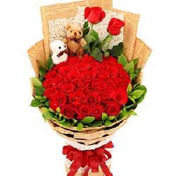 用爱温暖你的心/33支红玫瑰