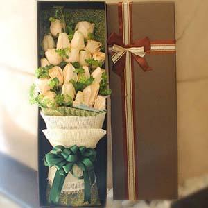 你在我心中/21支香槟玫瑰礼盒