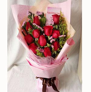 美丽的相逢/11支玫瑰