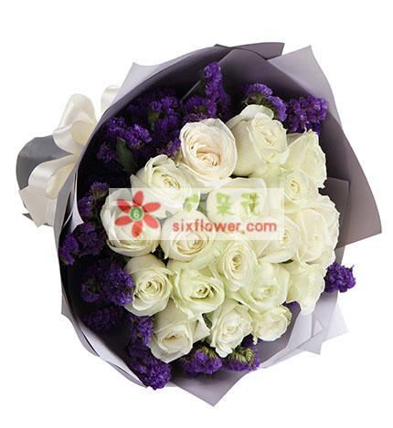 21支白玫瑰/心中唯有你