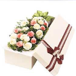 爱上你是最美丽的/19支玫瑰礼盒